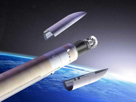 Ипотпал ракетата ни вече се раздели на части